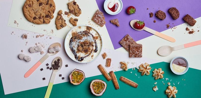 Dolci creazioni con biscotti classici Image